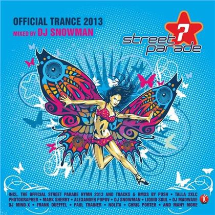 Streetparade 2013 - Trance - Mixed By DJ Snowman