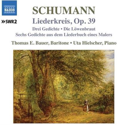 Robert Schumann (1810-1856), Thomas E. Bauer & Uta Hielscher - Lieder Vol. 7 - Liederkreis, op.39 - Drei Gedichte, Die Löwenbraut, Sechs Gedichte Aus Dem Liederbuch Eines Malers