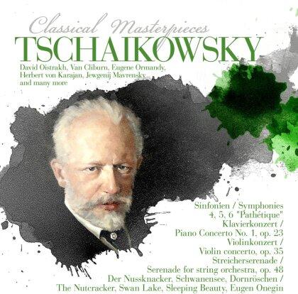 Peter Iljitsch Tschaikowsky (1840-1893) & Herbert von Karajan - Tschaikowsky: Classical Masterpieces (8 CDs)