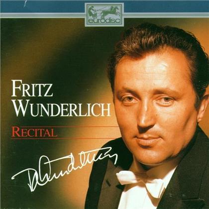 Fritz Wunderlich, Ernesto de Curtis (1875-1935), Edoardo de Capua, Carl Clewing, Georg Friedrich Händel (1685-1759), … - Recital