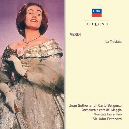 Joan Sutherland, Carlo Bergonzi, Sir John Pritchard, Giuseppe Verdi (1813-1901) & Orchestra e coro del Maggio Musicale Fiorentino - La Traviata - Eloquence (2 CDs)