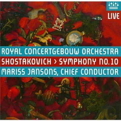Mariss Jansons, Dimitri Schostakowitsch (1906-1975) & Royal Concertgebouw Orchestra Amsterdam - Sinfonie Nr10 (Hybrid SACD)