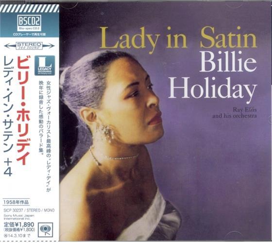 Billie Holiday - Lady In Satin - & Bonustracks (Japan Edition)
