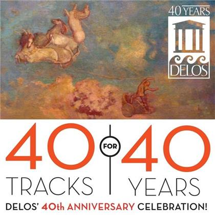 Various & Divers Komponisten - 40 Tracks For 40 Years : Delos' 40th Anniversary Celebration (3 CDs)