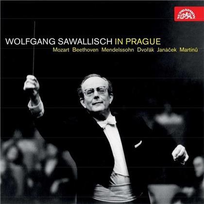 Josef Suk (1874-1935), Wolfgang Amadeus Mozart (1756-1791), Ludwig van Beethoven (1770-1827), Johannes Brahms (1833-1897), Felix Mendelssohn-Bartholdy (1809-1847), … - Wolfgang Sawallisch in Prague (5 CDs)