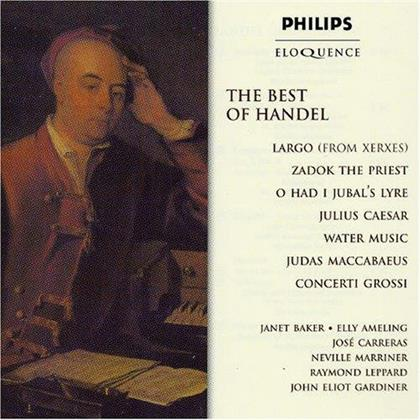 Dame Janet Baker, Elly Ameling, José Carreras, Georg Friedrich Händel (1685-1759), Sir Neville Marriner, … - Best Of Handel - Eloquence