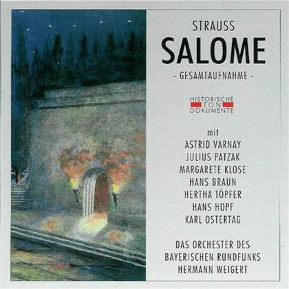 Astrid Varnay, Julius Patzak, Margarete Klose, Hans Braun, Hertha Töpfer, … - Salome - Gesamtaufnahme - (2 CDs)