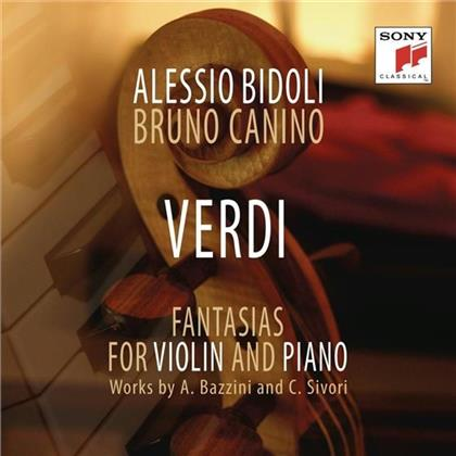 Giuseppe Verdi (1813-1901), Alessio Bidoli & Bruno Canino - Verdi - Fantasias for Violin and Piano Transcriptions By C.Sivori & A. Bazzini