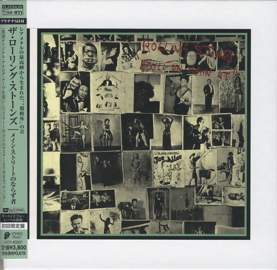 The Rolling Stones - Exile On Main Street (Platinum Edition Papersleeve, Japan Edition)