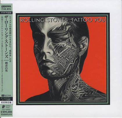 The Rolling Stones - Tattoo You (Platinum Edition Papersleeve, Japan Edition)
