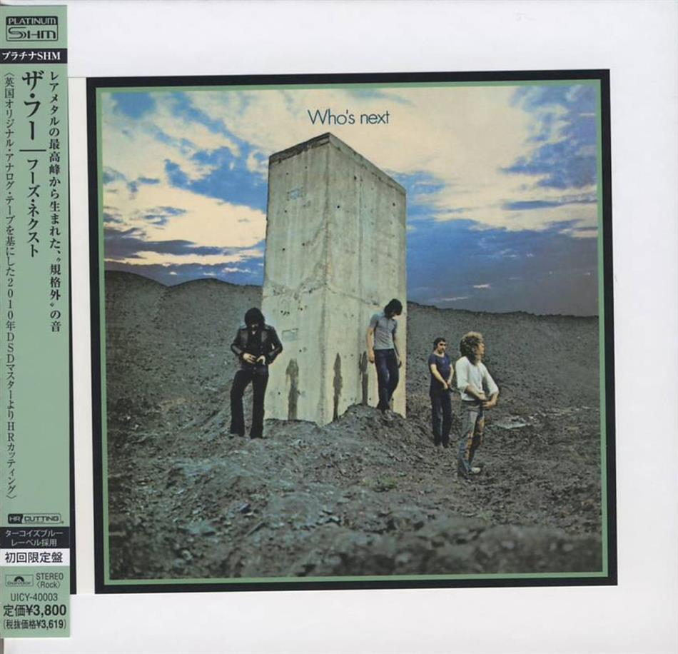 The Who - Who's Next - Papersleeve (Japan Edition)