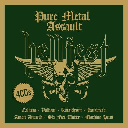 Hellfest - Pure Metal Assault (4 CDs)