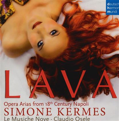 Simone Kermes, Claudio Osele & Le Musiche Nove - Lava - Opera Arias From 18th Century Napoli (LP)