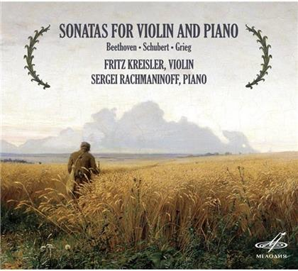 Ludwig van Beethoven (1770-1827), Fritz Kreisler (1875-1962) & Sergej Rachmaninoff (1873-1943) - Violin- & Klaviersonaten