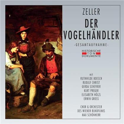 Carl Zeller & Max Schönherr - Der Vogelhändler (2 CDs)