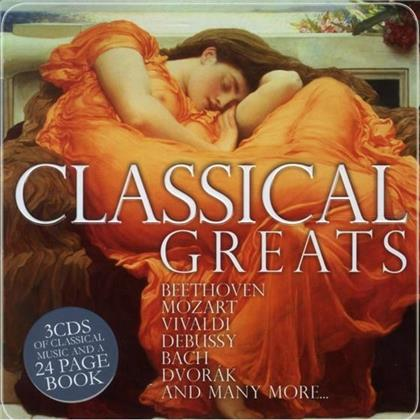 Various - Classical Greats - - Weihnachten (3 CDs)