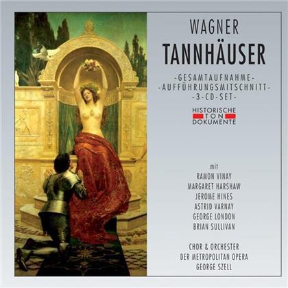 Ramon Vinay, Jerome Hines, Richard Wagner (1813-1883) & George Szell - Tannhäuser (3 CDs)