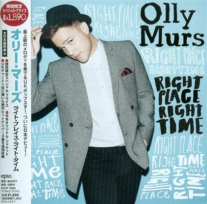 Olly Murs - Right Place Right Time - + Bonus (Japan Edition)
