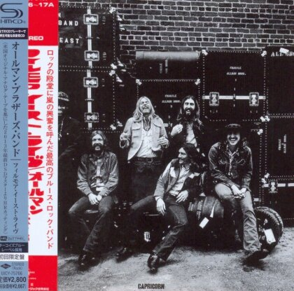 The Allman Brothers Band - At Fillmore East (Limited Edition Papersleeve, Japan Edition)