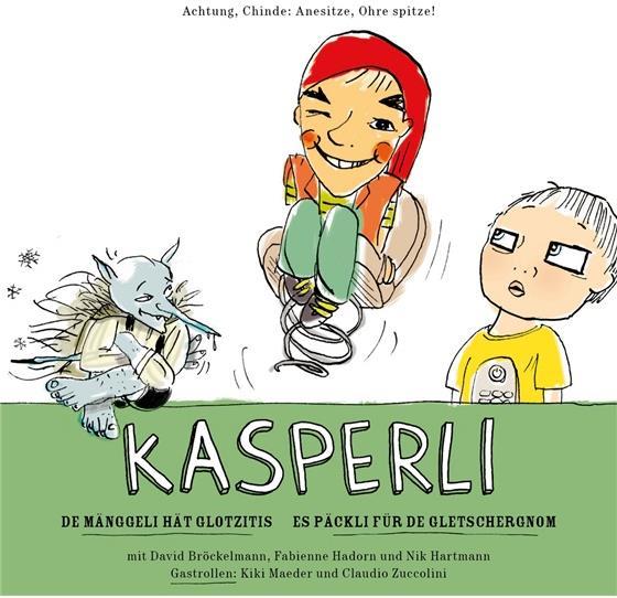 Kasperli - De Mänggeli / De Gletschergnom