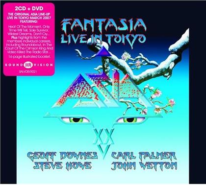 Asia - Fantasia Live In Tokyo (2 CDs + DVD)