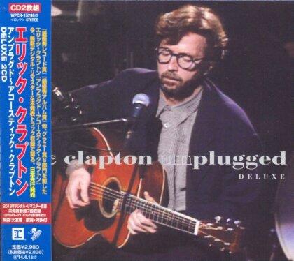 Eric Clapton - Unplugged Remaster & Expanded - + Bonus (Remastered, 2 CDs)
