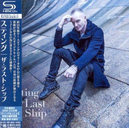 Sting - Last Ship (Japan Edition)