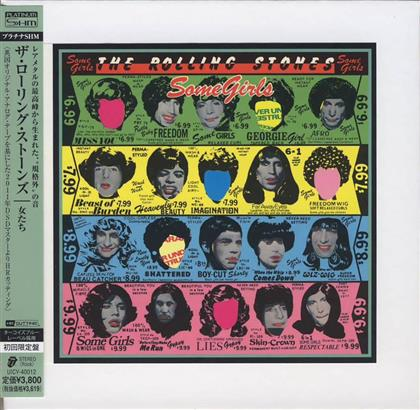 The Rolling Stones - Some Girls - Platinum Papersleeve (Japan Edition, Remastered)