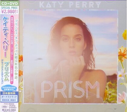 Katy Perry - Prism - Deluxe (Japan Edition, CD + DVD)