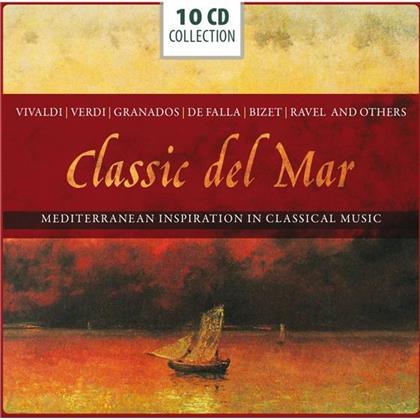 Antonio Vivaldi (1678-1741), Enrique Granados (1867-1916), Manuel de Falla (1876-1946), Georges Bizet (1838-1875), Maurice Ravel (1875-1937), … - Classic Del Mar : Mediterranean Inspiration in Classic Music (10 CDs)