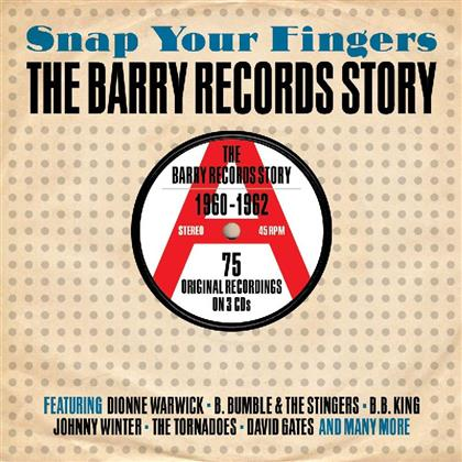 Snap Your Fingers: The Barry Records Story (3 CDs)