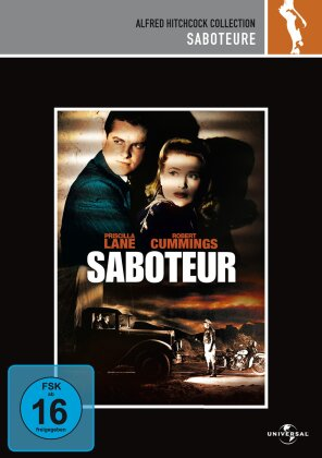 Saboteure (1942) (Die Hitchcock Collection, s/w)