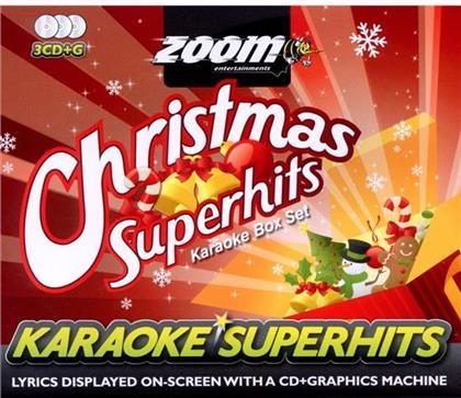 Zoom Karaoke - Karaoke Christmas Superhits (3 CDs)