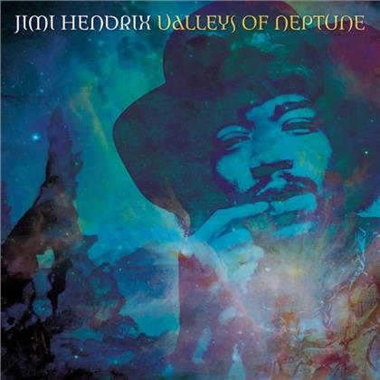 Jimi Hendrix - Valleys Of Neptune - Jewelcase