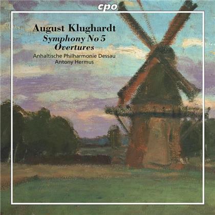 August Klughardt (1847-1902), Antony Hermus & Anhaltische Philharmonie - New Music By a Dessau Master : Sinfonie Nr5 Op71, Konzertouvertuere in Springtime