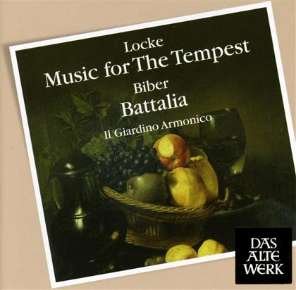 Il Giardino Armonico, Heinrich Ignaz Franz von Biber (1644-1704), Locke, Jan Dismas Zelenka (1679-1745) & Iga - Battalia/Music For Tempest,Fanfare