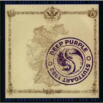Deep Purple - Live In Stuttgart 1993 - Cherry Red (2 CDs)