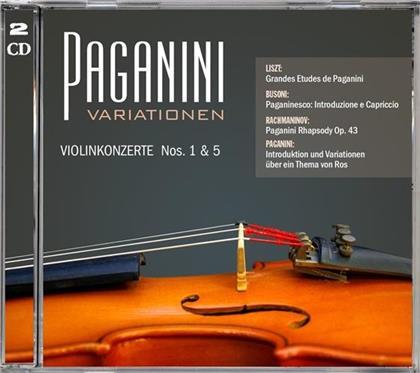 Niccolo Paganini (1782-1840) - Violinkonzerte Nos 1 & 5 (2 CDs)