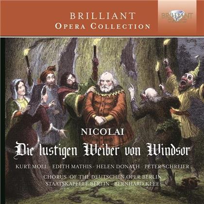 Kurt Moll, Edith Mathis, Helen Donath, Peter Schreier, Otto Nicolai (1810-1849), … - Die lustigen Weiber von Windsor - Brilliant Opera Colleciton (2 CDs)