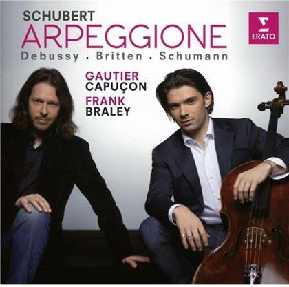 Gautier Capuçon, Frank Braley, Franz Schubert (1797-1828), Claude Debussy (1862-1918), Benjamin Britten (1913-1976), … - Arpeggione