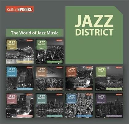 Jazz District - 20cd Box (Kulturspiegel) (20 CDs)