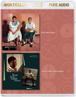 Ella Fitzgerald & Louis Armstrong - Ella &Louis And Ella & Louis Again - Pure Audio - Only Bluray (Versione Rimasterizzata)