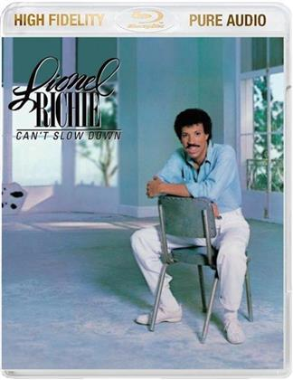 Lionel Richie - Can't Slow Down - Pure Audio - Only Bluray