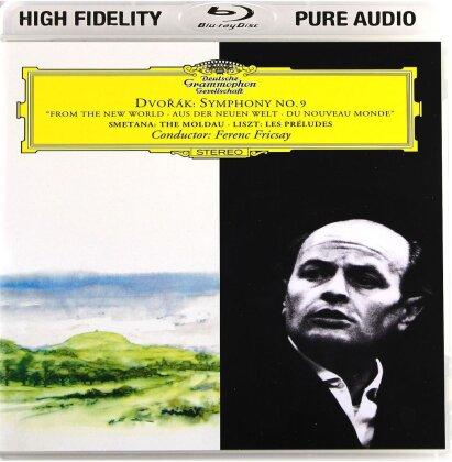 Ferenc Fricsay, Antonin Dvorák (1841-1904), Friedrich Smetana (1824-1884) & Franz Liszt (1811-1886) - Symph. No. 9/The Moldau/Les Preludes - Pure Audio - Only Bluray