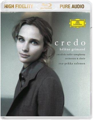 Hélène Grimaud, John Corigliano (*1938), Ludwig van Beethoven (1770-1827) & Arvo Pärt (*1935) - Credo - Pure Audio - Only Bluray