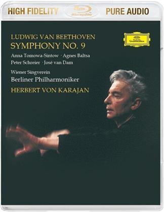 Ludwig van Beethoven (1770-1827) & Herbert von Karajan - Symphony No. 9 - Pure Audio - Only Bluray