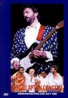 Eric Clapton - Birmingham England concert - July 1986