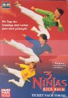 3 Ninjas 1-3 - Fight & Fury - Kick back - Mega mountain... (3 DVDs)