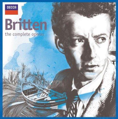 Benjamin Britten (1913-1976) - Complete Operas (20 CDs)