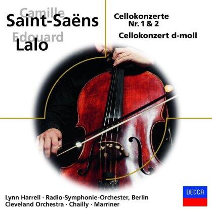 Camille Saint-Saëns (1835-1921), Edouard Lalo (1823-1892), + & Lynn Harrell - Cellokonzerte
